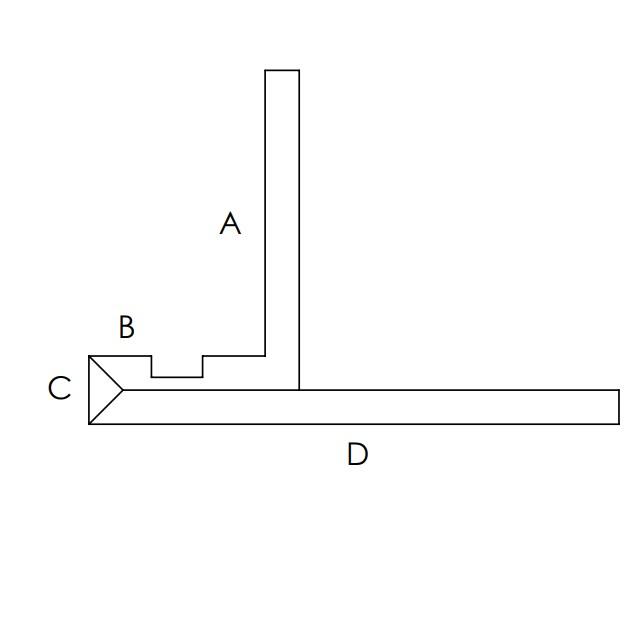 sezione porta led