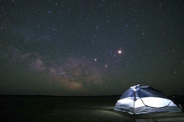 illuminazione da campeggio